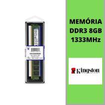 MEMÓRIA DDR3 8GB KINGSTON 1333MHz -