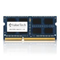 Memoria de Notebook 8Gb Ddr3 1600 Cl11 1.5V   VT8G1600L11N Valuetech -