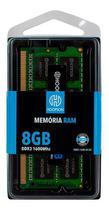 Memoria de notebook ddr3 8gb 12800 (1600mhz)  hoopson -
