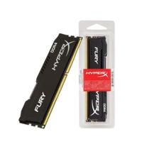 Memória HyperX Fury, 16GB, 2400MHz, DDR4, CL15, Preto - HX424C15FB3/16 - Kingston