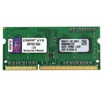 Memória Kingston 4GB 1600Mhz DDR3 p/ Notebook CL11 - KVR16S11S8/4