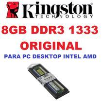 Memoria Kingston Ddr3 8gb 1333 Mhz Desktop 16 Chips Original -