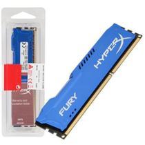 Memória Kingston HyperX FURY 8GB 1866Mhz DDR3 CL10 Blue Series - HX318C10F/8 -