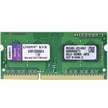 Memoria Kingston Notebook Ddr3 4gb 1333mhz Pc3 Kvr13s9s8/4 OEM