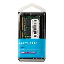 Memória Multilaser Ddr3 Sodimm 4Gb 1600 Mhz - Mm420 -