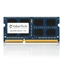 Memoria. Notebook 4Gb Ddr3 1600 Cl11 1.5V VT4G1600L11N Valuetech -