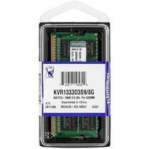 Memoria Notebook 8GB DDR3 1333 Mhz Kingston Kvr1333d3s9/8g -