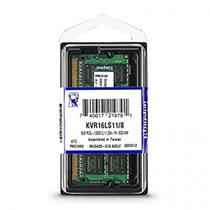 Memoria Notebook 8GB DDR3 1600 Mhz Low Voltage 1,35v Kingston Kvr16ls11/8 -
