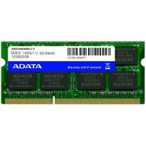 Memoria Notebook A-Data 8GB 1600MHz DDR3L CL11 SODIMM -