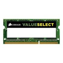 Memoria notebook corsair ddr3l 1333mhz 4gb valueselect