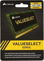 Memoria Notebook Ddr3 Corsair CMSO8GX3M1C1600C11 8GB 1600mhz -