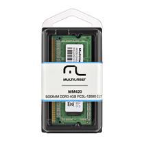 Memoria Notebook Multilaser Sodimm DDR3 4GB MM420 -