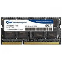 Memória Notebook Team Group 8GB DDR3 1600 Mhz -