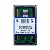 Memória p/ Notebook 4GB DDR3 Kingston 1333MHz KVR1333D3S9/4GB -