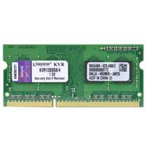 Memória p/ Notebook Kingston 4GB 1333Mhz DDR3 CL9 - KVR13S9S8/4