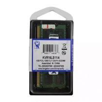Memória para Notebook 8GB, 1600MHz, DDR3, 1,35V, KVR16LS11/8 - Kingston -