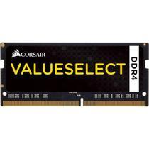 Memória Para Notebook 8GB 2133MHZ  Corsair Value Select   CMSO8GX4M1A2133C15 -