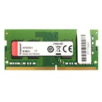 Memória para Notebook Kingston 4GB DDR4 2666MHz KCP426SS6/4 -