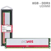 Memoria Pcyes Udimm 8GB DDR3 1333MHZ - PM081333D3 -