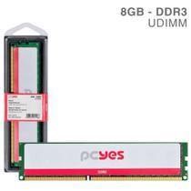 Memoria Pcyes Udimm 8GB DDR3 1600MHZ - PM081600D3 -