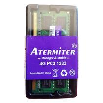 Memória Ram 4gb Notebook Ddr3 Pc3-10600 1333mhz 1.5v PR - Atermiter
