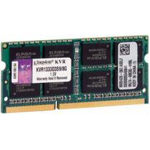 Memória Ram 8Gb DDR3 1333mhz CL9 KVR1333D3S9/8 Para Notebook - Kingston -