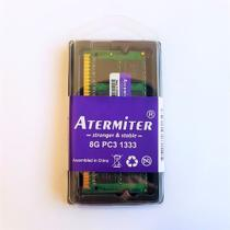 Memória Ram 8gb Notebook Ddr3 Pc3-10600 1333mhz 1.5v - Atermiter