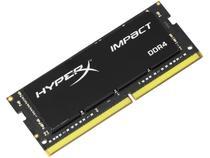 Memória RAM para Notebook 8GB DDR4 - HyperX Impact 2666Mhz com Dissipador