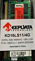Memória RAM PARA NOTEBOOK DDR3L 4GB 1600MHz PC3L-12800 204 Pinos SODIMM - Keepdata
