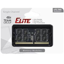 Memória Ram para Notebook DDR4 4GB 2400 Mhz Team Group Elite TED44G2400C16-S01