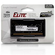 Memória Ram para Notebook DDR4 8GB 2400 Mhz Team Group Elite TED48G2400C16-S01