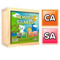 Memoria silabas 40 pecas - 1233 - Ciabrink