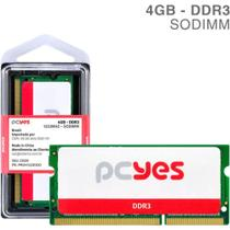 Memoria sodimm 4gb ddr3 1333mhz  pm041333d3so  pcyes