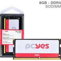 Memoria sodimm 8gb ddr4 2400mhz - pm082400d4so - pcyes -