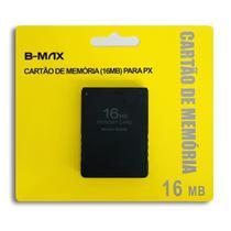 Memory Card 16mb Playstation 2 Ps2 Cartão De Memoria Lacrado - B-Max -
