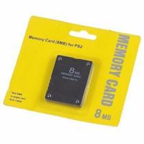 Memory Card 8MB Compatível Com PS2 - Hc2