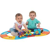Merco Toys Babytrain Express 12 Trilhos - Mercotoys