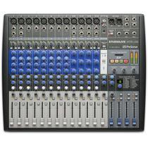 Mesa Analógica e Interface Presonus Studiolive Ar16 USB -