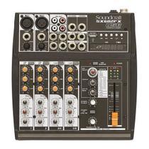 Mesa Analogica Soundcraft SX602FX 6 Canais USB - Sound craft -