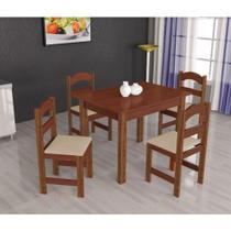 Mesa Arauna com 4 Cadeiras Primavera -