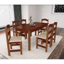 Mesa Arauna com 6 Cadeiras Primavera -