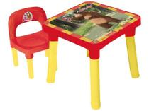 Mesa com Cadeira Infantil Masha e o Urso - Monte Líbano 1 Lugar -