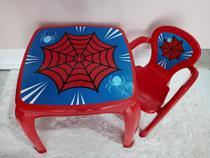 Mesa com cadeira teia - Usual Utilidades