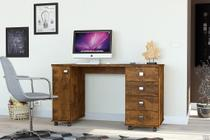 Mesa Computador Office  Smart Canela - Lukaliam -