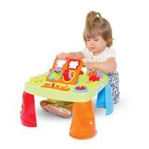 Mesa Criativa Didática Bebê Infantil Interativa Mesinha Com Som - Maral