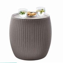 Mesa de Apoio Cozy Table Keter Bege - Keter móveis