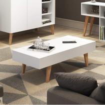 Mesa de Centro com Tampo Basculante Be Mobiliário Branco -