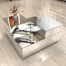 Mesa de centro Espelhada MCE06 - Camarim Móveis