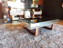 Mesa de Centro Espelhada Topázio Classic - Demoglass