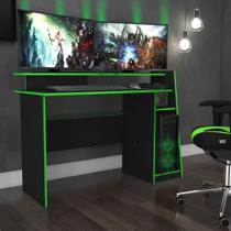 Mesa de Computador Gamer Evolution 1,30m MSM 448 Movelbento -